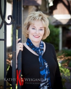 Debby + Outdoor Portraits in downtown Fredericksburg Texas