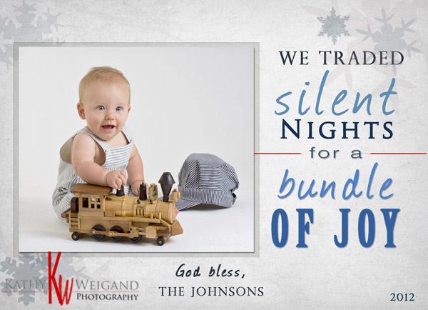Silent Nights Card