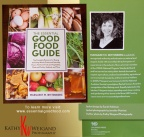 The Essential Good Food Guide:  Book by Margaret Wittenberg, bio photo by Kathy Weigand Photography, Fredericksburg Texas