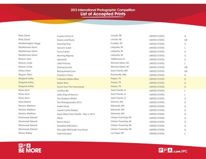 Microsoft Word - list of accepted prints 2013_GA