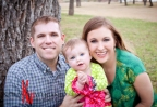 Outdoor Family & Baby Portraits in Fredericksburg Texas … Meet the 'G' Family!