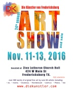 Art Show in Fredericksburg Texas, Nov 11-13, 2016