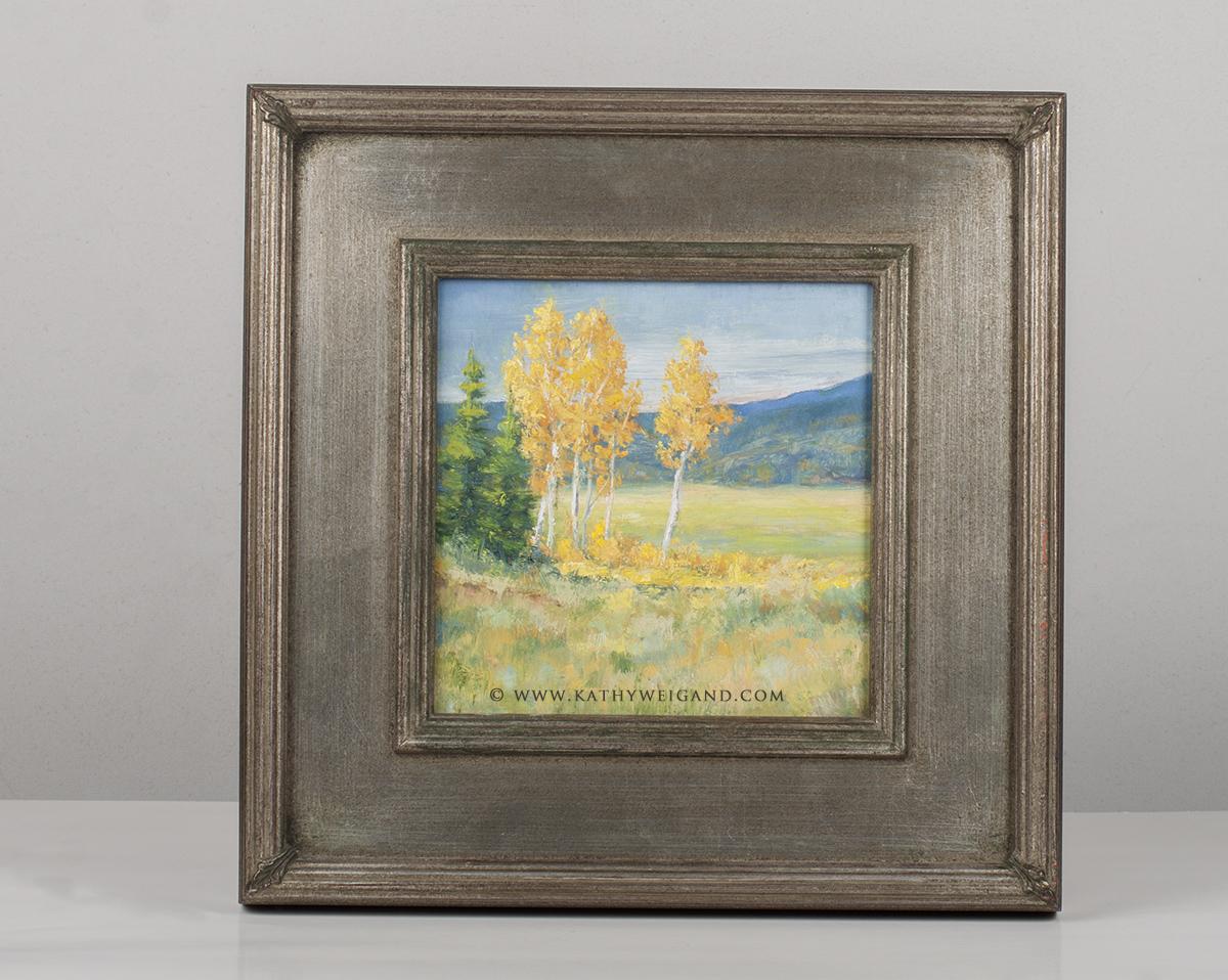Aspen Grove 5x5 Framed