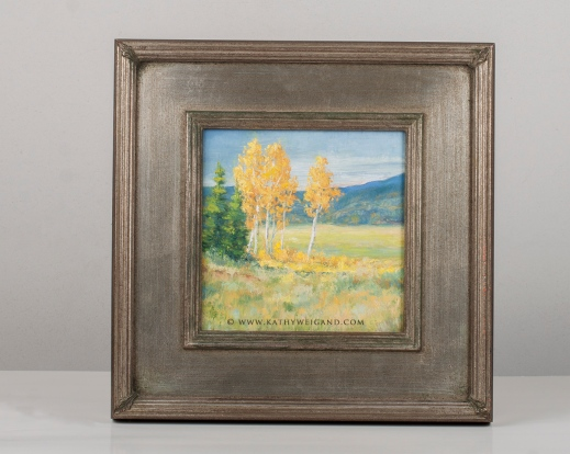Aspen Grove 5x5 Framed